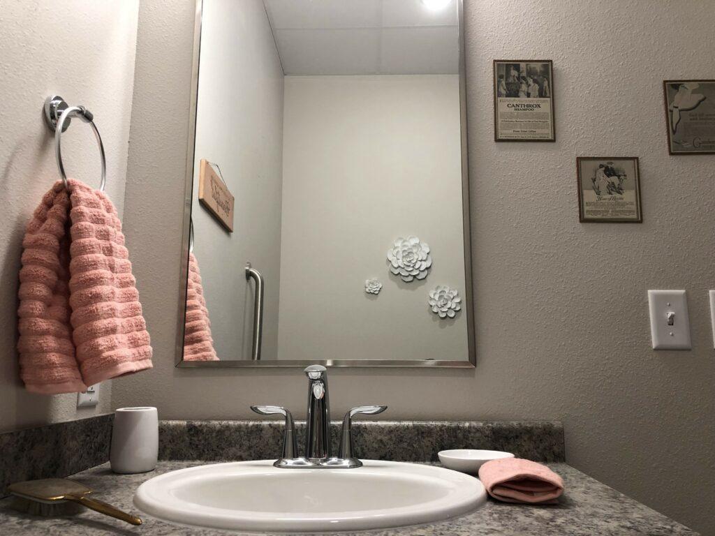 Private Bathroom at Cambridge Senior Living