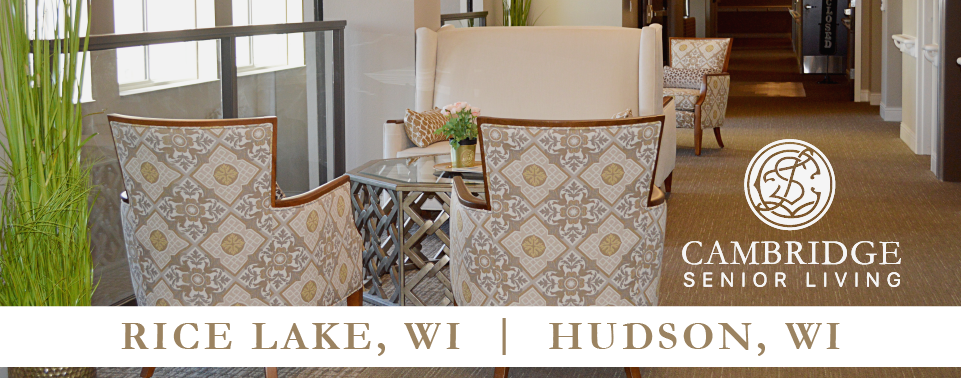 Skilled Assisted Living in Rice Lake, WI and Hudson, WI