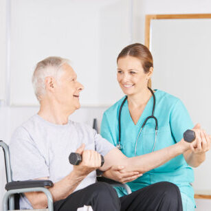 physical and occupational therapy offered at Cambridge Senior Living