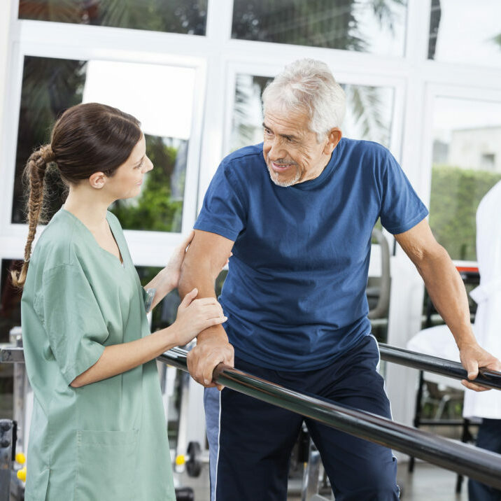 Physical Therapy Patient and Therapist